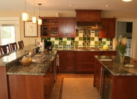 Apple Green, Dark Green, Milk Tiles